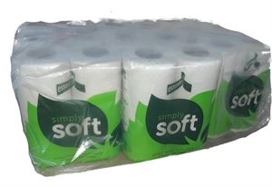 5040200C essentials 320 toilet rolls