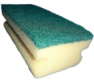1040049N Vileda Sponge Scourer single